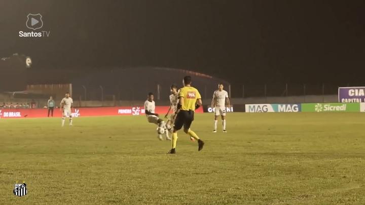Golos de Kaio Jorge pelo Santos em 2020/21.