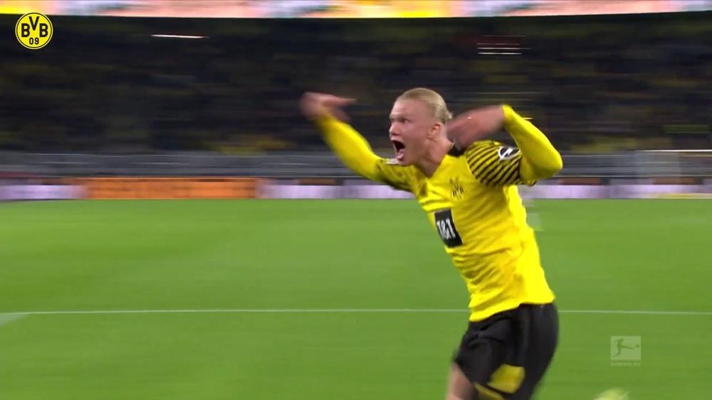 La vittoria dell'ultimo minuto di Haaland contro l'Hoffenheim. Dugout