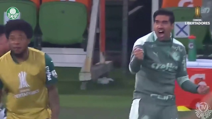 Golaço de Dudu contra o São Paulo na Libertadores 2021. DUGOUT
