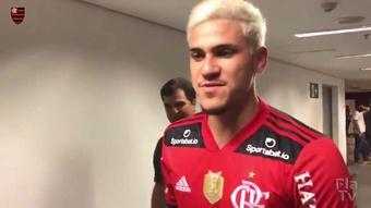 ''A cada dia estou realizando o sonho de jogar no Flamengo''.