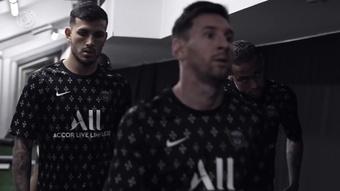 Il dietro le quinte di Messi e la sua prima partita di Champions nel PSG. Dugout