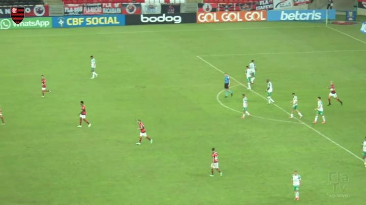Vitória do Flamengo.