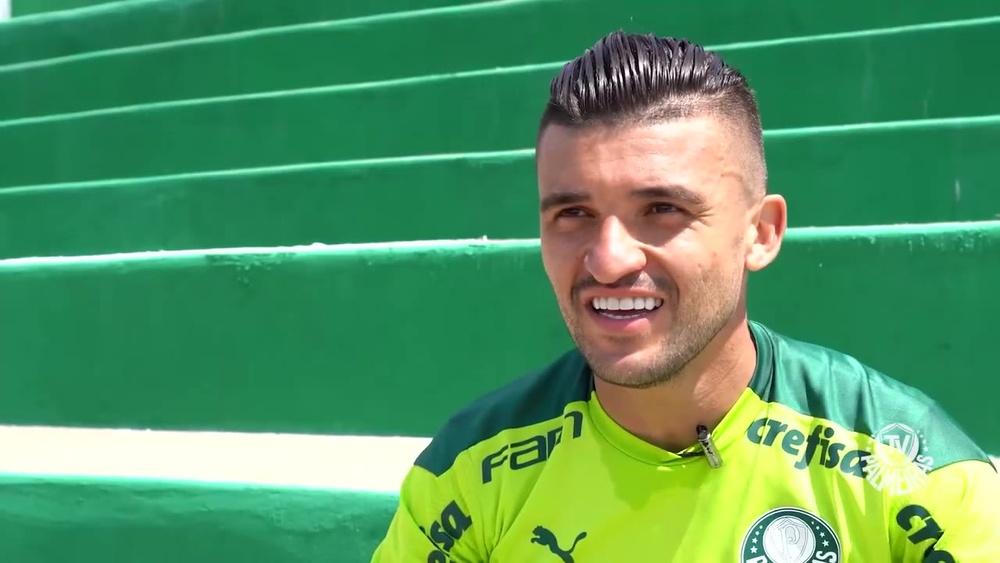 Victor Luis relembra sua trajetória no Palmeiras. DUGOUT
