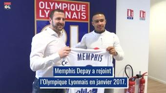 La carrière brillante de Memphis Depay à Lyon. Dugout