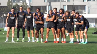 Four internationals have returned to Real Madrid training. DUGOUT