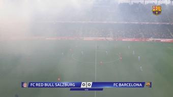 Veja os gols do amistoso Red Bull Salzburg 2 x 1 Barcelona. DUGOUT