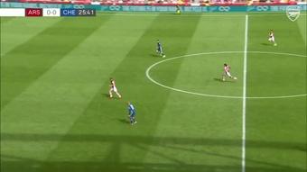 Le but de Xhaka lors de la défaite d'Arsenal contre Chelsea en amical. Dugout