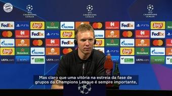 Nagelsmann diz que vitória no Camp Nou vai ficar na memória