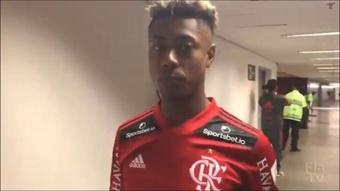 Confira as palavras de Bruno Henrique após o jogo. DUGOUT