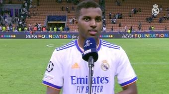 Rodrygo falou após a vitória merengue. DUGOUT