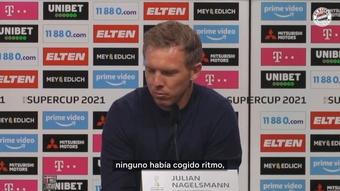 Nagelsmann habló tras la victoria de la Supercopa. DUGOUT
