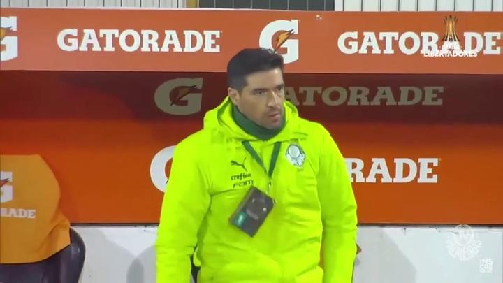 Com gol de Raphael Veiga, Palmeiras vence o Universidad Católica na Libertadores. DUGOUT