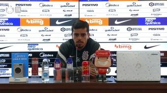 Fágner pede paciência com o Corinthians. DUGOUT
