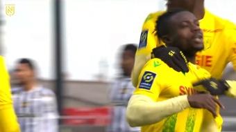 Résumé de Angers 1-3 Nantes 2021. AFP