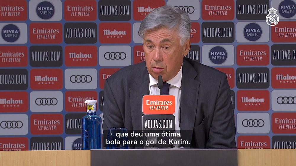 Ancelotti exalta atmosfera em volta do Real Madrid ao Santiago Bernabéu. DUGOUT