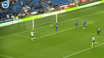 Jakub Moder scored as Brighton won at Cardiff. DUGOUT