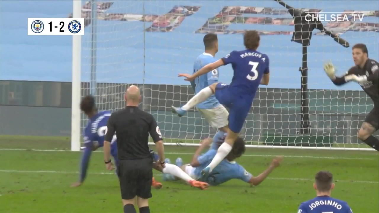 VIDEO: Ziyech and Alonso stun Man City