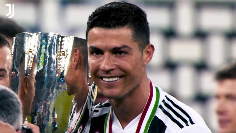 L'addio di Ronaldo alla Juve. Dugout