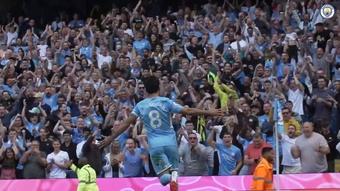 Ferran Torres got a brace as Man City thumped Arsenal 5-0. DUGOUT