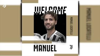 La Juventus annuncia Manuel Locatelli. Dugout