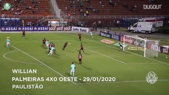 VIDÉO : TOP 3 buts Palmeiras en 2020. DUGOUT