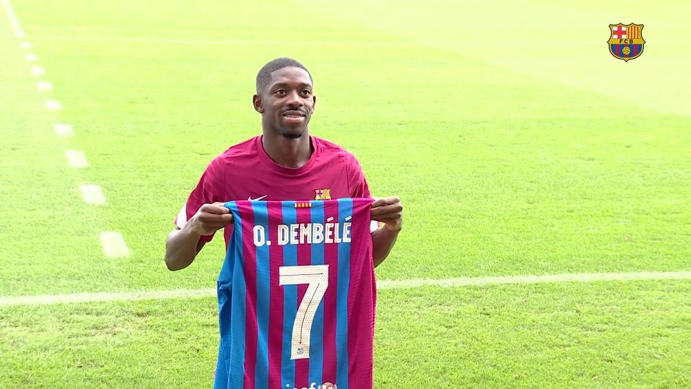 Dembélé prosegue la sua guarigione. Dugout