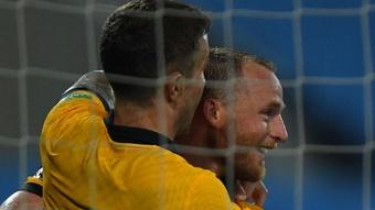 Rhyan Grant's goal gave Australia victory over Vietnam. GOAL