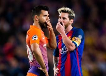 Di Maria savoure l'arrivée de Messi mais pense à Agüero. Goal
