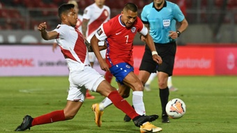 Chile are taking no risks with Sanchez. GOAL