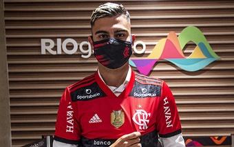 Andreas Pereira coloca Flamengo como maior da América e mira parceria com Arrascaeta
