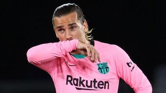 Ferran Torres réagit à la rumeur d'une arrivée de Griezmann à Manchester City. AFP