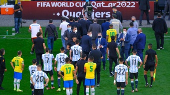 An investigation has been opened involving Brazil and Argentina. GOAL