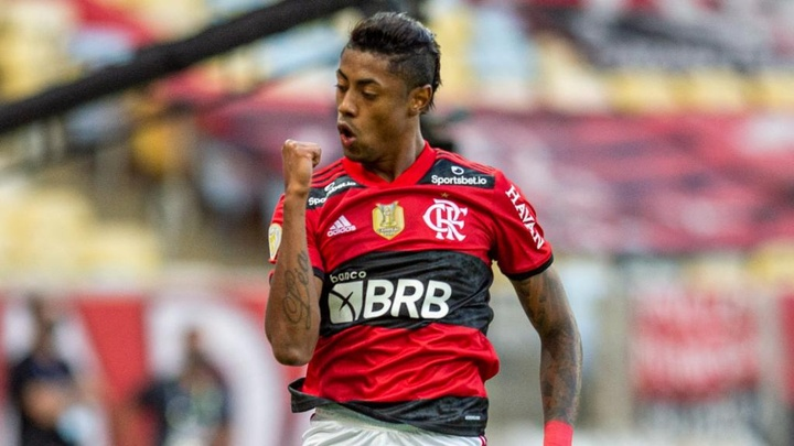 Bruno Henrique mira Copa do Mundo. EFE