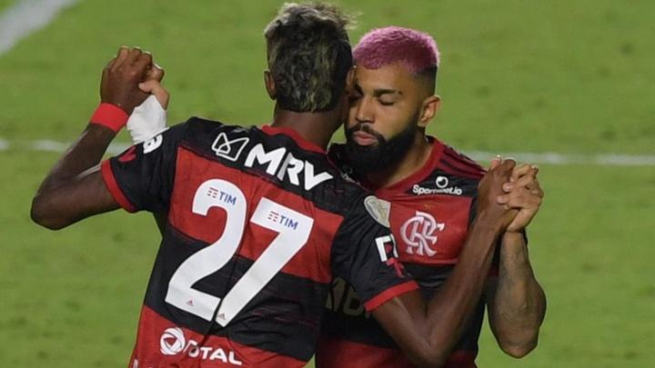 Bruno Henrique indica Flamengo apostando nos contra-ataques contra a LDU. AFP