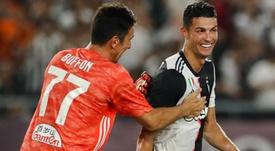 Buffon a Ronaldo: 'Deve sapere che se dà l'esempio la Juventus è 100 volte più forte'