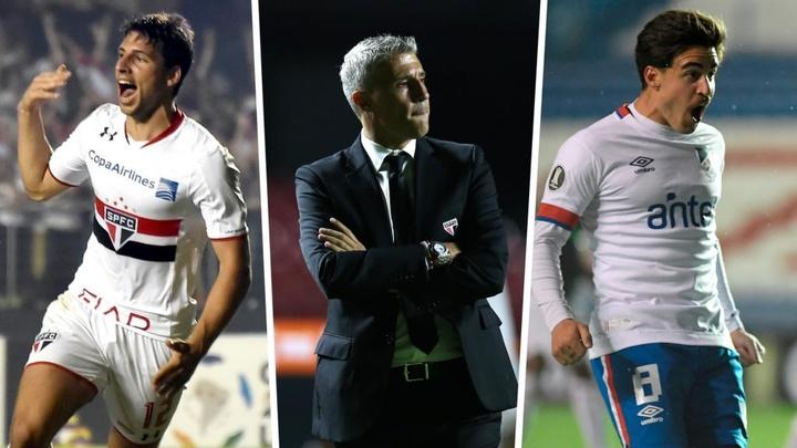 Como o São Paulo vai jogar com Jonathan Calleri e Gabriel Neves?