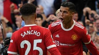Ronaldo réussit son retour à MU ! Goal