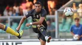 Ronaldo was handed his first competitive debut with Juventus. Goal