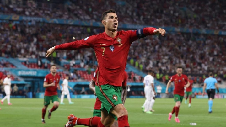 Cristiano Ronaldo scored two penalties in draw with France. GOAL