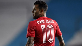 Dani Alves is eager to play again at the Olympics. GOAL
