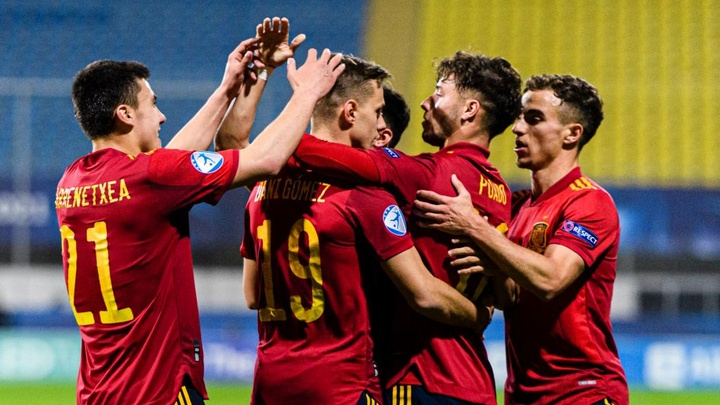 European Under-21 Championship: Spain and Italy join Netherlands and Germany in quarter-finals
