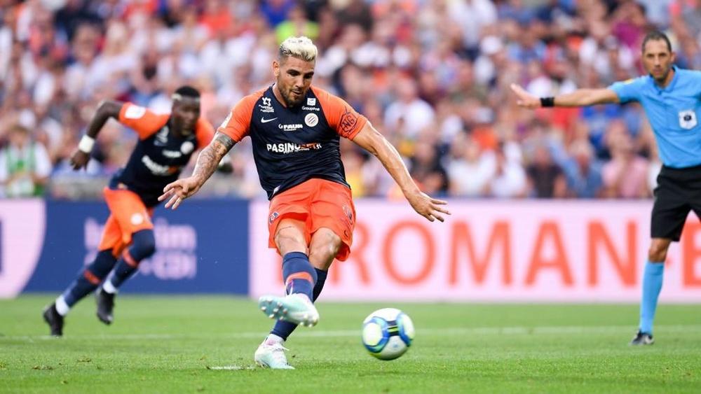 Delort remonté contre les fans de Montpellier. Goal