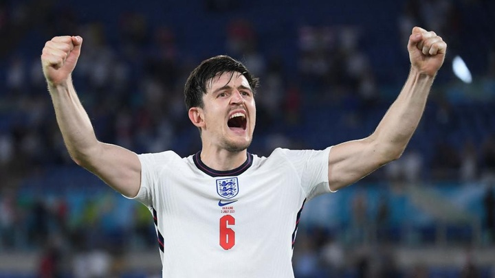 England not settling for a semi-final, says Maguire after thumping Ukraine win