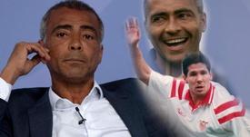 """""""Porrador de rua nato"""", Romário relembra soco em Simeone e outras confusões."""