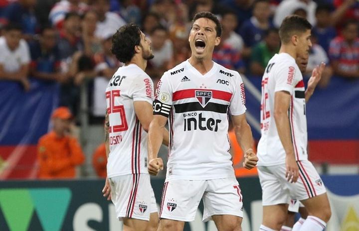 Até quando vai o contrato de Hernanes no São Paulo? EFE