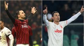 Ibrahimovic and Cristiano go head to head once again on Thursday evening. GOAL