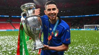 Jorginho is not thinking about his Chelsea future just yet. GOAL