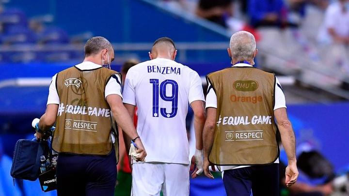 Deschamps confirms 'knock' for France star Benzema ahead of Euro 2020. AFP