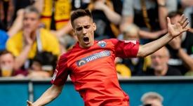 Paderborn promoted to Bundesliga. Goal