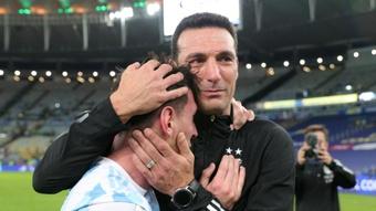 Messi leaving a legacy – Scaloni. GOAL